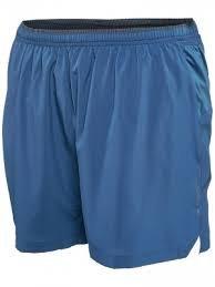 Brooks Herren Laufhose Sherpa 5'' kurze Sporthose Lauf Short Grau oder Blau (Blau, L) (Shorts Spandex Brooks)