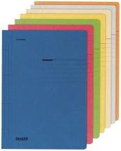 Schnellhefter A4 Pappe farbig sortiert