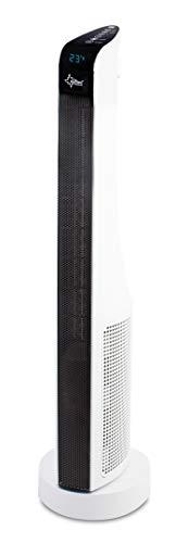Suntec Wellness 13058 Calefactor de CTP, 1000 W, Negro, Blanco