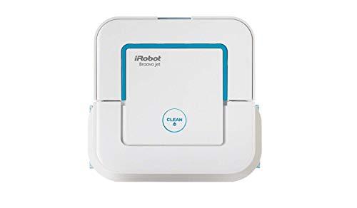 IRobot Roomba 671 Saugroboter (hohe Reinigungsleistung mit Dirt Detect) schwarz + Braava jet 240 Wischroboter (für Küchen) weiß
