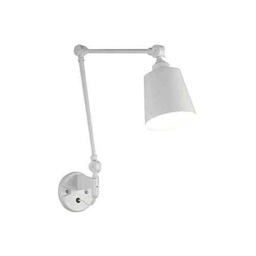Lampade da parete a braccio lungo nordico, american led lampada da parete pieghevole a parete moderna bar lampada da parete a letto da comodino moda semplice soggiorno studio parete di lettura sconce