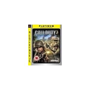 Activision Blizzard – Call of Duty 3 (PLATINUM) /PS3 (1 Games)