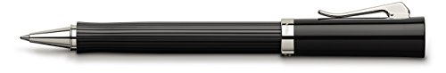 Graf von Faber-Castell Tintenroller Intuition kanneliert, schwarz