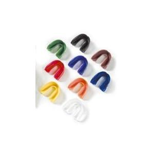 Zahnschutz / Gebißschutz für Oberkiefer mit Dose, verschiedene Farben zur Auswahl