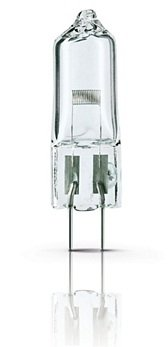 Indetouch Halogen Light Bulb Quartz Glass 24V 150W Bi-Pin Base Mirchi OT Projection Light
