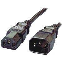 Equip 112100 - Cable alimentación Macho-Hembra, 1.8 m, Color Negro