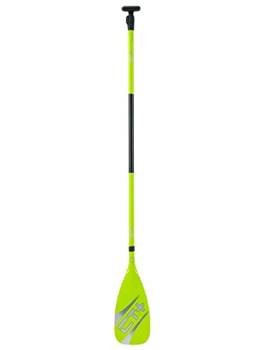 CT+ - Colors SUP Paddel 2-teilig - Carbon-GFK Stand Up Paddling, Farbe:Lime (Paddel Gfk)
