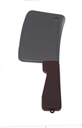 Piccoli monelli Tridenti Forche ASCE Guadaña Cuchillo insanguinato Halloween Cuchillo de Carnicero Mannaia Cm 25