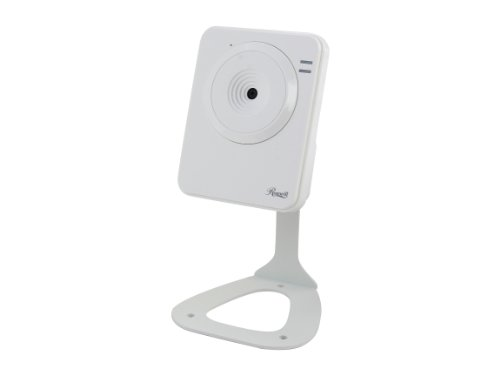 Rosewill Direct Rosewill RSCM-12001 640 x 480 MAX Resolution RJ45 Wireless N Internet IP Camera White