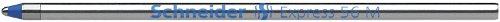 Preisvergleich Produktbild Schneider Express 56 M Kugelschreiber Mine (Edelstahlspitze, dokumentenecht) 20er Packung blau