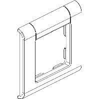 signo ZB 1fach-Rahmen or m.Beschriftungsfeld 12872181130