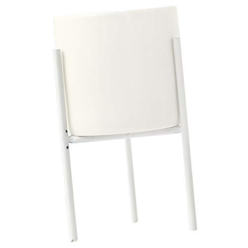 Fenteer Tisch Blumenständer Pflanzenständer Blumentopf Ständer - Weiß M -