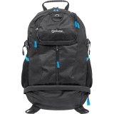 """Manhattan Trekpack Notebookrucksack Für 439756 Laptops bis 17"""" schwarz/blau"""