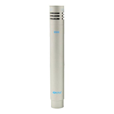 YPA M606 Pencil Cardioid Condenser Mics - Ideal For Acoustic Instruments Or Drum Overheads