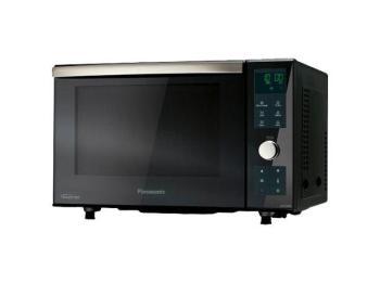Wie kann man Mikrowelle, Grill und Ofen in einem Gerät kombinieren? Mit der NN-DF383 erfüllt Panason