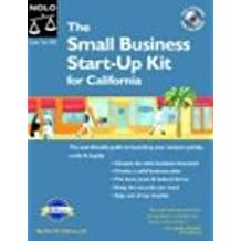 """Small Business Start-Up Kit for California """"With CD,"""" the"""