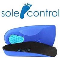 Orthopädisch Sole Control Ultra Lichtdichte 3/4 Length Einlagen, Bubble Gel Fersenpolster, Senkfußeinlagen (36.5... preisvergleich bei billige-tabletten.eu