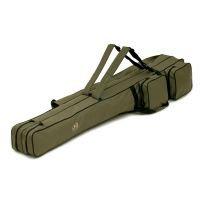 Behr Allround Rutentasche - Rutenfutteral - 2 Fächer verschiedene Längen (1,25 Meter)