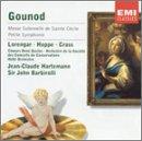 Gounod : Messe solennelle de Sainte Cécile - Petite Symphonie pour instruments à vent [Import USA]