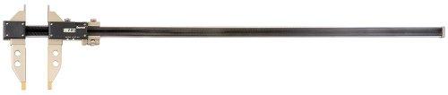 Starrett b5000bz-40/1000Elektronische Schieblehre Messschieber, 0bis 101,6cm/0bis 1000mm Range, 0cm/0.01mm Auflösung, RS232Daten Ausgang, Carbonfaser mit Edelstahl Backen