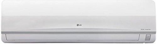 LG 1.5 Ton 3 Star Inverter Split AC (Copper, JS-Q18TUXD1, White)