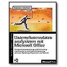 Unternehmensdaten analysieren mit Microsoft Office - reference book - CD - German