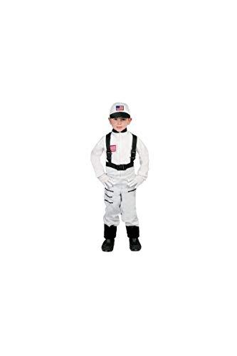 Guirca Astronaut Kostüm für Kinder Gr. 110-146, Größe:140/146 (Pilot Kostüme Für Jungen)
