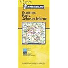 Carte routière : Essonne - Paris - Seine-et-Marne, N° 11312