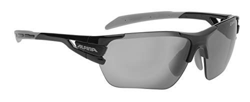 Alpina Erwachsene Campiglio Fahrradhelm, black-grey, One Size