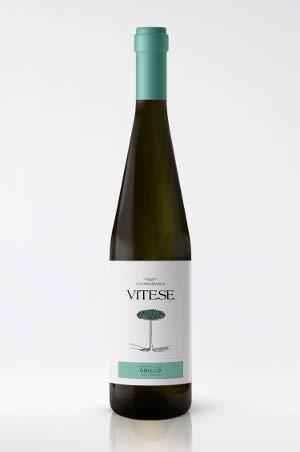 Grillo Doc Sicilia Bio 75 Cl Vitese - Vino Bianco Fermo