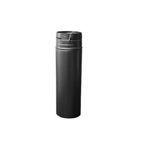 Dura-Vent DuraVent Pellet-Belüftungsöffnung, verstellbar, 7,6 x 45,7 cm, Schwarz