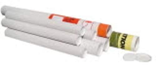 Pressel Versandrohr, Kraftk, Deckel, Innen-Ø: 50 mm, Nutzlänge: 310 mm, weiß