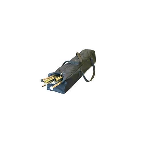 21J86LQaOhL. SS500  - Eurotrail ETAC0146 Storage Bag for Tent Frames, Poles and Accesories, 120 x 25 x 23 centimeters, black