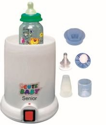 CHEESY CHEEKS Little Baby's Electric 5 in 1 Bottle Food Warmer and Steriliser