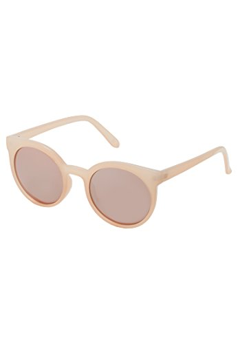 Even&Odd Sonnenbrille in Butterfly Form oder rund, Nude, One Size