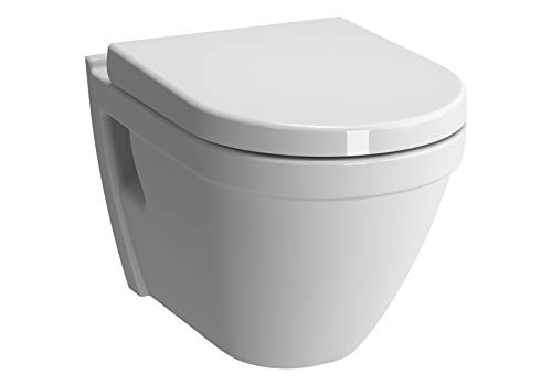 TOP Vitra Vitraflush S50 spülrandlos mit Bidetfunktion, Taharet, Taharat Dusch WC inkl. Softclose WC-Sitz -