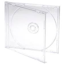 Preisvergleich Produktbild 10 CD/DVD Single Klar Jewel Cases mit Klar Tablett Professional quality-branded dragontrading®