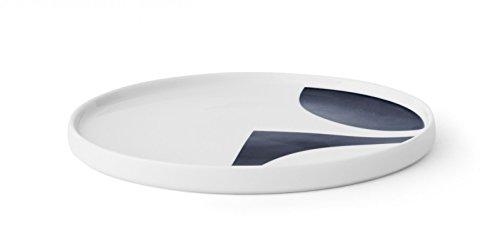 MENU Design Tablett VERNER PANTON Servierplatte Servierschale 20 cm blau 4559719