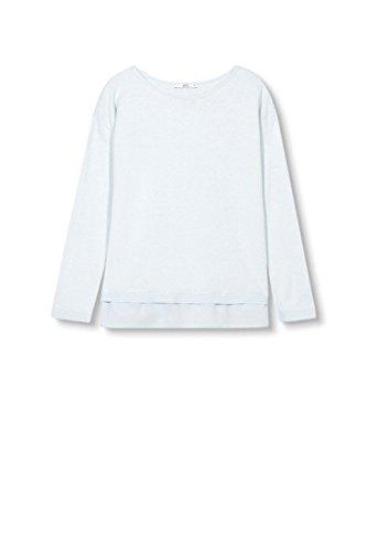 edc by ESPRIT Damen Pullover Blau (Pastel Blue 435)