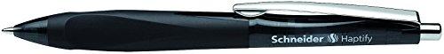 Schneider Schreibgeräte Kugelschreiber Haptify, Druckmechanik, M, schwarz, Farbe des Schaftes:...