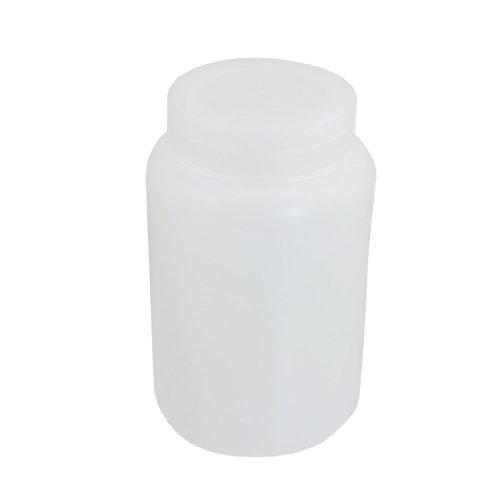 2000ml Weiß Kunststoff Graduated Labor chemikalien flasche DE