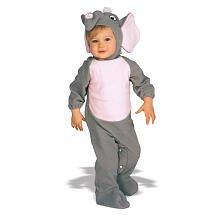 Babykostüm Kostüm Baby Babyelefant Strampler Elefant grau Gr. (Baby Elefant Rosa Kostüme)