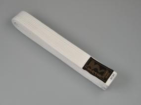 Cintura per judo bianca, 300 cm