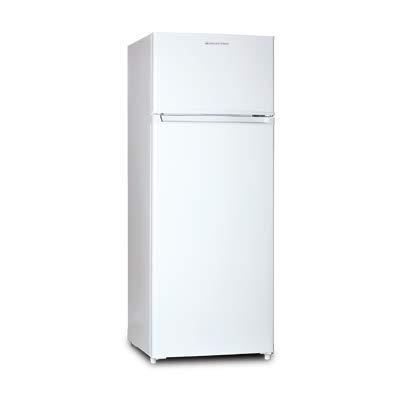 El frigorífico de dos puertas RFD-212B te proporcionará una gran capacidad con un pequeño tamaño. El refrigerador almacena hasta 168L y el congelador 40L, en total el frigorífico tiene una capacidad de 208L. Gracias a su clasificación energética A+ a...