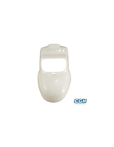 pr 2013 Blanc Peint Motodak Capot Moteur Scooter tunr Compatible avec Nitro//aerox