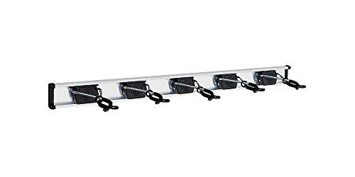 Bruns Universal Gerätehalter 75 cm schwarz inkl. 5 Halter Profi Geräteleiste Ausführung BigDean Black Edition