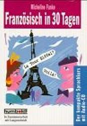 Humboldt Taschenbücher, Französisch in 30 Tagen, m. Audio-CD