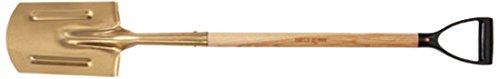 Ampco Safety Tools 7732Kettelung Spaten, non-sparking, antimagnetisch, korrosionsbeständig, D-förmigem, 46-1/5,1cm OAL -