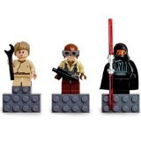 LEGO Star Wars Minifigure Magnet Set 852551 Anakin Skywalker, Naboo Fighter Pilot and Darth Maul