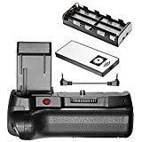 Neewer–Mando a Distancia por Infrarrojos Agarre Vertical de batería Trabajo con LP-E10batería para Canon 1100d 1200d 1300d/Rebel T3T5T6SLR Digital Cámara